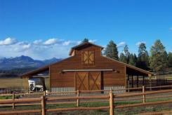 Continental Estates farm barn