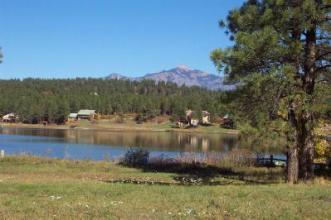 Lake Pagosa Park lake front
