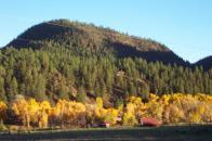 Lower Blanco River Valley landscape