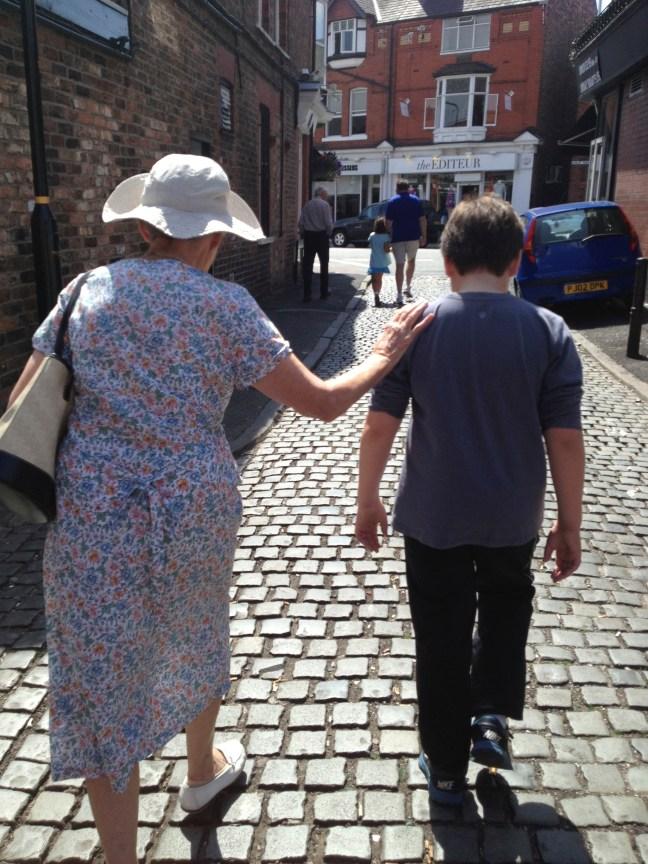 Teddy and Granny