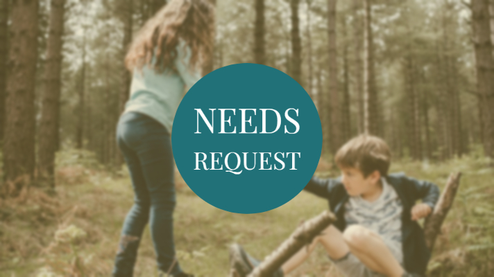 Request your needs