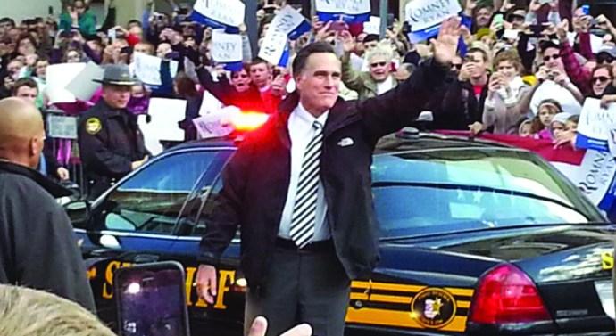 Mitt Romney promises Americans a strong economy
