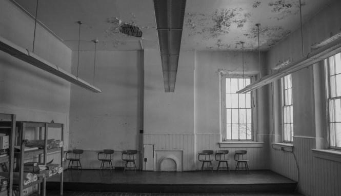 Merrick Hall before the start of the renovations. Photo by Caleb Dorfman