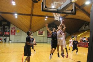 The men's basketball team will look to improve off a 20-8 season in 2014. Transcript file photo by Jane Suttmeier