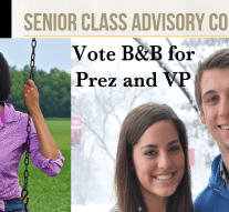 Controversial run-off voting for senior class council takes place