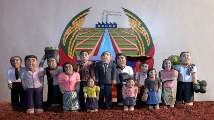 Clay figures from the film. Photo courtesy of mubi.com.