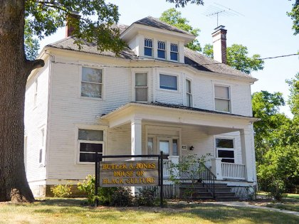 The House of Black Culture (HBC) on Rowland Avenue. Photo courtesy of the OWU website.