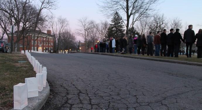 Vigils held in remembrance of Luke Gabbert