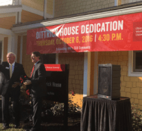 Dittrick House dedication
