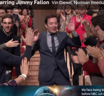 Jimmy Fallon hugged me, but there's no proof