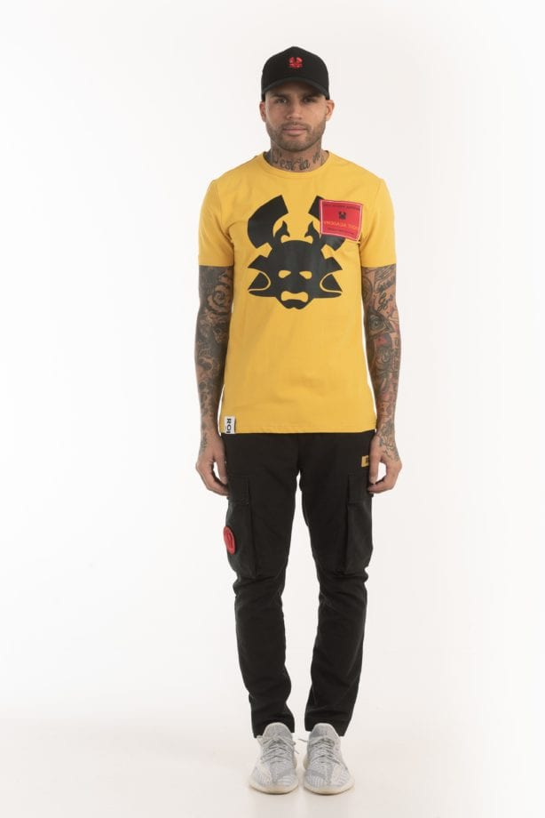 CIZO SS TEE 204 yellow once we were warriors