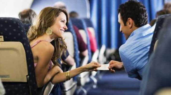 Знакомство с девушкой в самолете