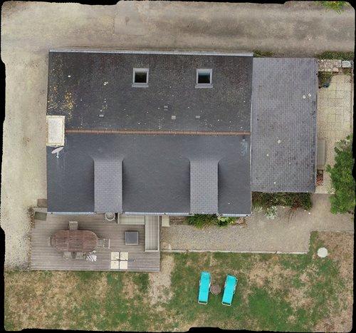Orthophotographie de toiture
