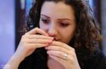 lucine sniffs - she was the best player, btw