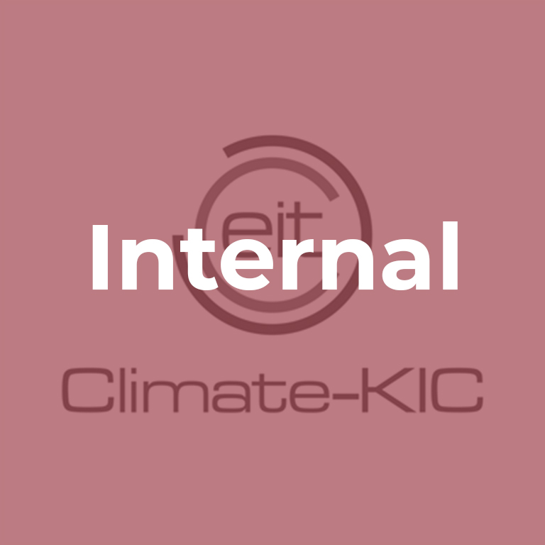 Selected for EIT Climate KIC