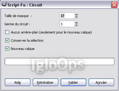04 [TUTO][GIMP] Faire un fond Strip Color