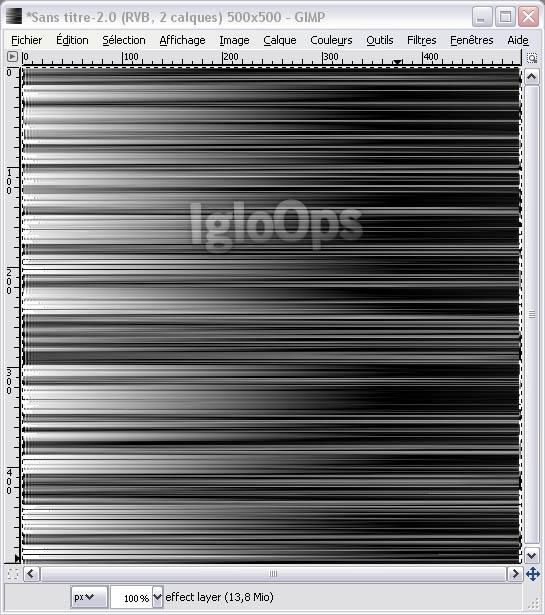 08 [TUTO][GIMP] Faire un fond Strip Color