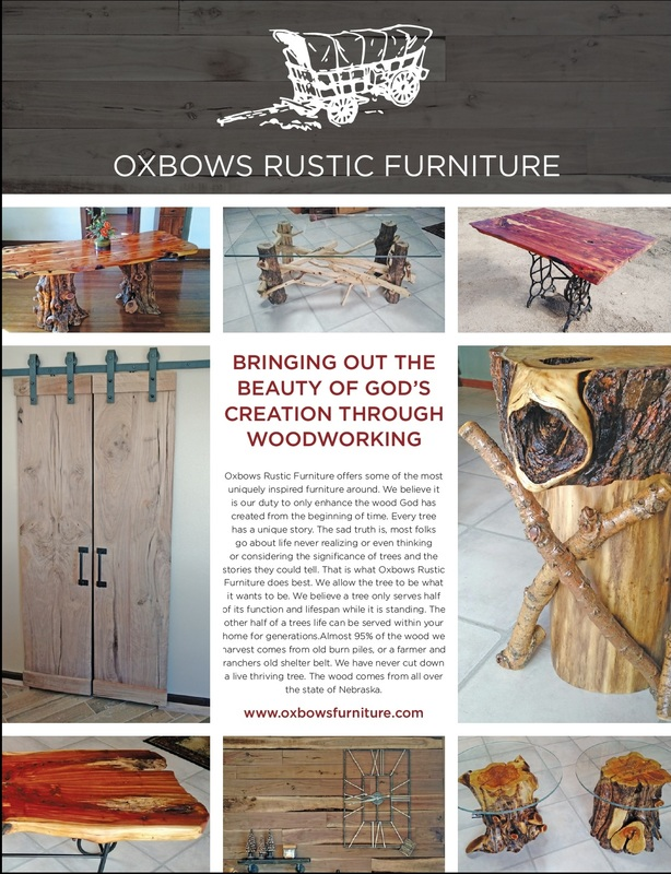 Our furniture a feature in a Jackson Hole, WY news article