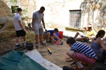 Taller de arqueología