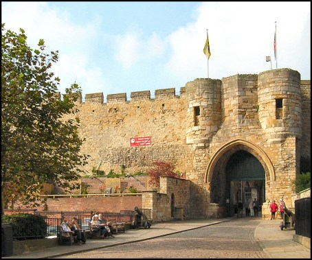 Castle East Gate Lincoln