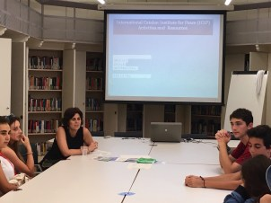 Students in the International Relations minor.