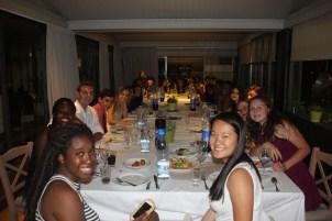 The LADEBA final dinner