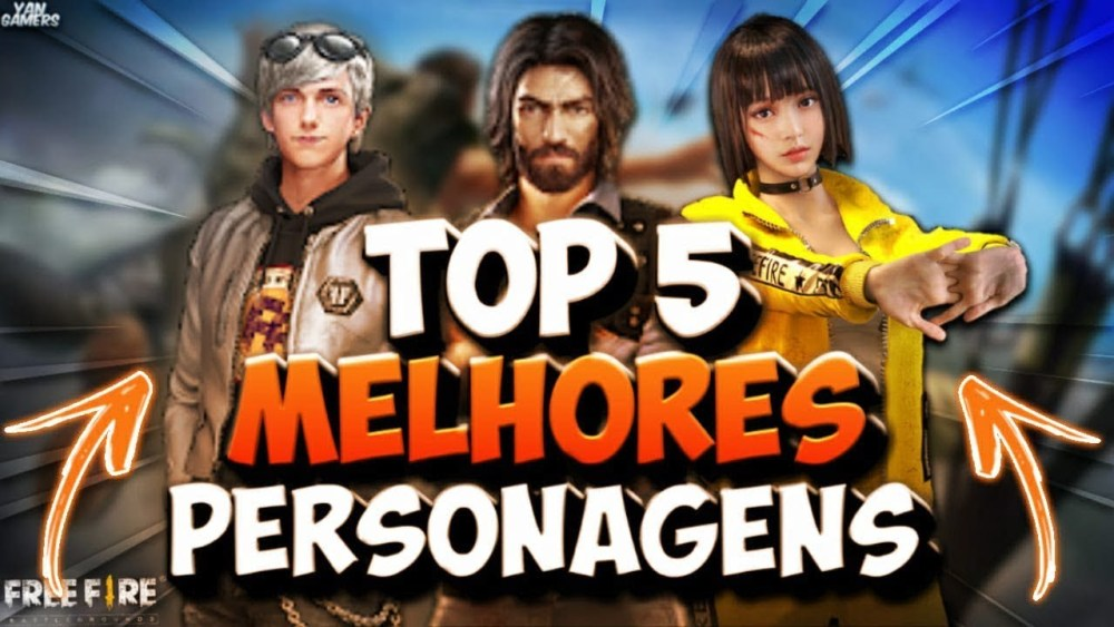 Personagem de Free Fire para Solo, Duo