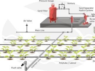 Drip iriigation system