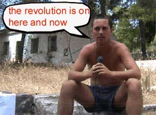 the revolution is on, here and now