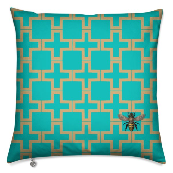 Favo Gold Turquoise