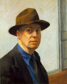 Edward Hopper July 22, 1882. Soft features, soulful eyes