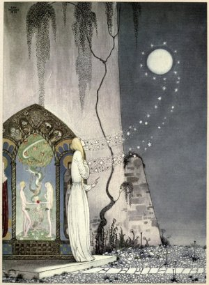Kay Nielsen's illustration for East of the Sun and West of the Moon