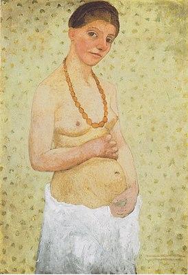 Self-portrait, Paula Modersohn-Becker