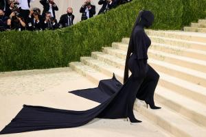 Kim Kardashian at the Met Gala, 14 September 2021
