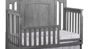 Guard Rail Willowbrook Graphite Gray Oxford Baby Kids