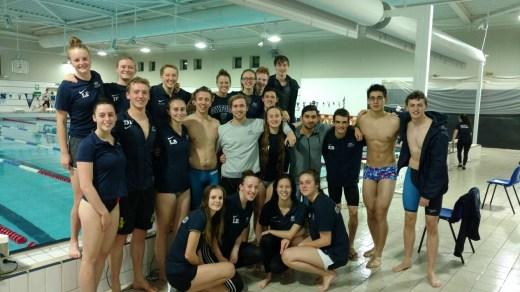 Ousc Swim To First Win Of The Season Oxford University Swimming Club