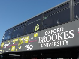 The new BROOKESbus livery!