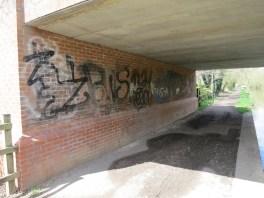Elizabeth Jennings Way Bridge Graffiti