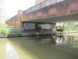 Elizabeth Jennings Way Bridge Graffiti 7