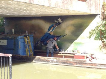 Oxford Canal Mural Painting Days (124)