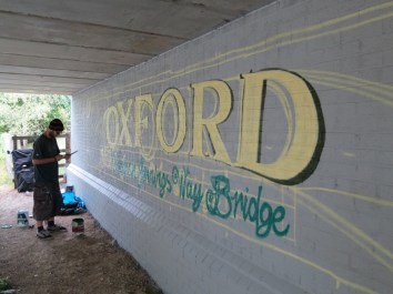 Oxford Canal Mural Painting Days (19)