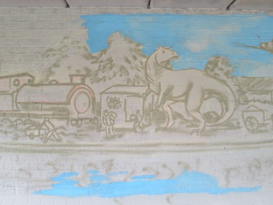Oxford Canal Mural Painting Days (2)