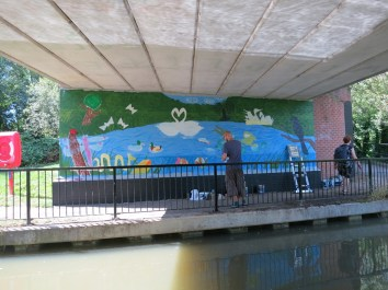 Oxford Canal Mural Painting Days (62)