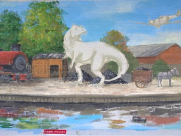 Oxford Canal Mural Painting Days (95)