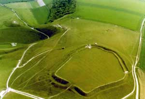 uffington white horse dragon hill
