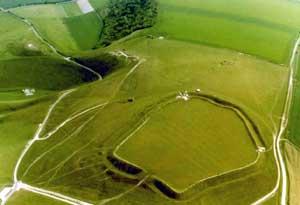 uffington white horse dragon hill