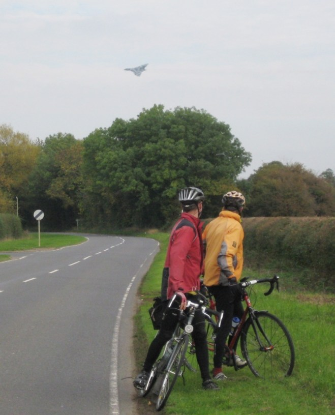 The last flight (almost) of the Vulcan