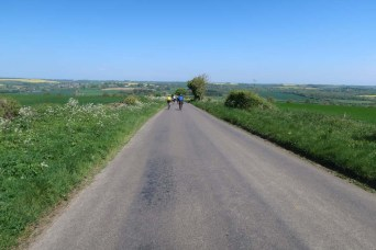 Wide open countryside in the highest part of the County