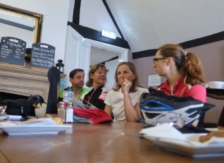 Coffee and chat Treacles Café, Thame