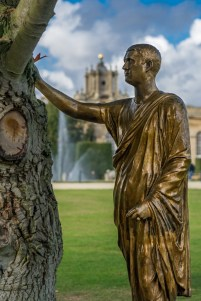 Golden Statue, Blenheim Palace, Oxfordshire © Venca J.